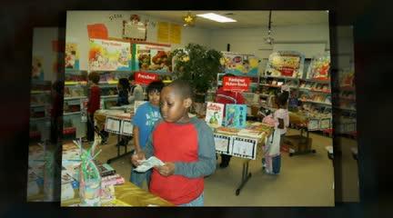 Lights, Camera, Books!  Scholastic Book Fair